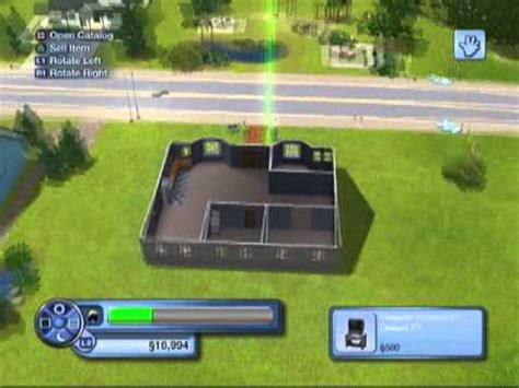 Pool House Plans With Bedroom How To Get An Empty Lot In Sims 3 Amp Building A Basic House