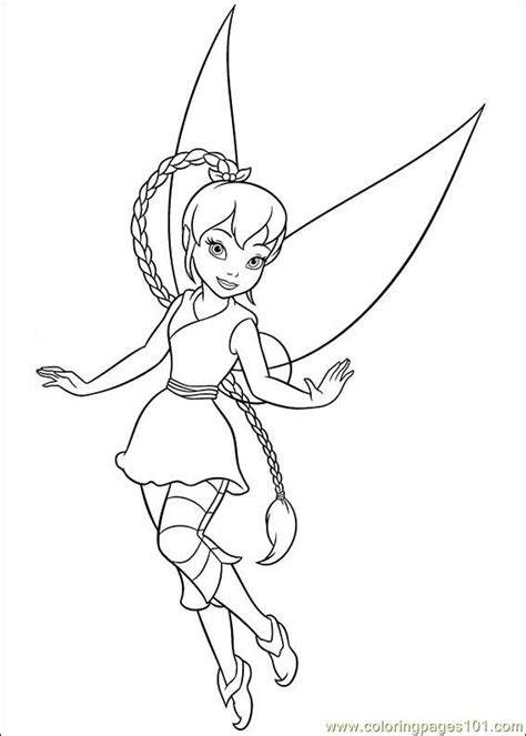 tinkerbell secret of the wings 13 coloring page free
