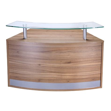 Modular Reception Desk New Modular Reception Desk In Choice Of Finishes Curved Reception Desk Reception Counter