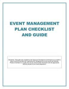 event safety plan template event management plan checklist and guide