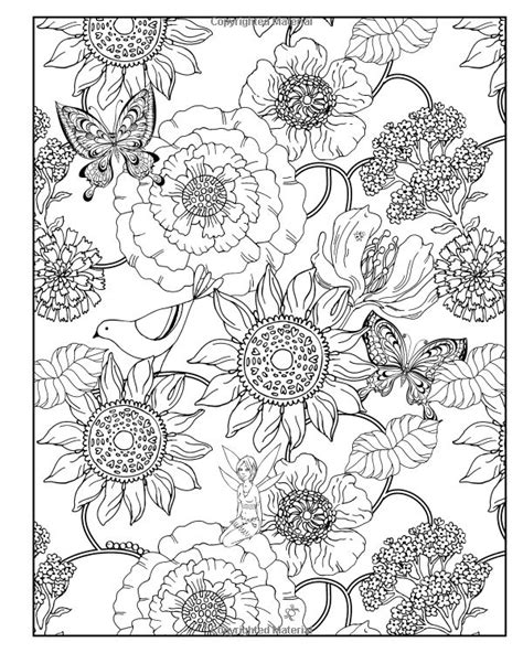 17 best images about colouring pages flowers on