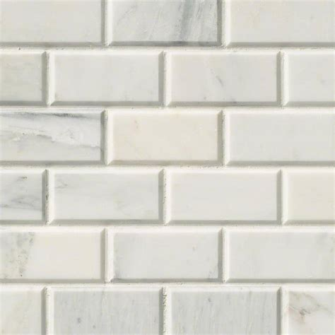 arabescato carrara subway tile 2x4 subway tile white