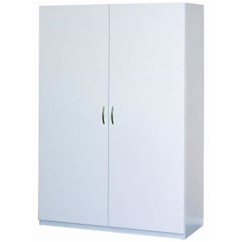 Closetmaid Wardrobe Cabinet closetmaid 48 in multi purpose wardrobe cabinet in white