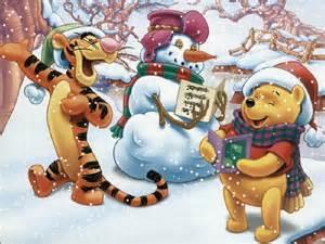 winnie pooh christmas christmas wallpaper 2735471