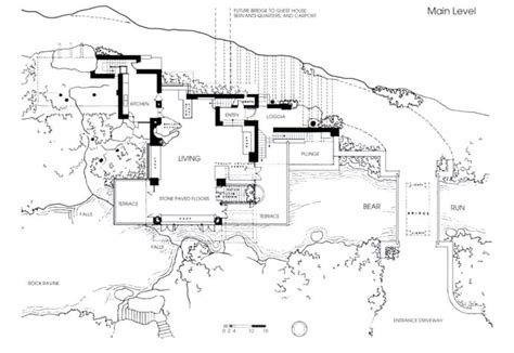 falling water floor plan pdf fallingwater house by frank lloyd wright video