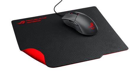 Mouse Pad Gaming ces 2015 rog whetstone mouse mat rog republic of gamers global