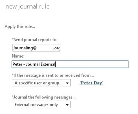 Office 365 Mail Journaling Email Journaling In Office 365 New Signature