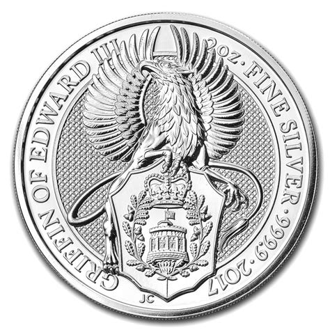 Queen S | buy 2017 great britain 2 oz silver queen s beasts the