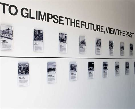 bmw museum timeline 24 best history wall exles images on pinterest
