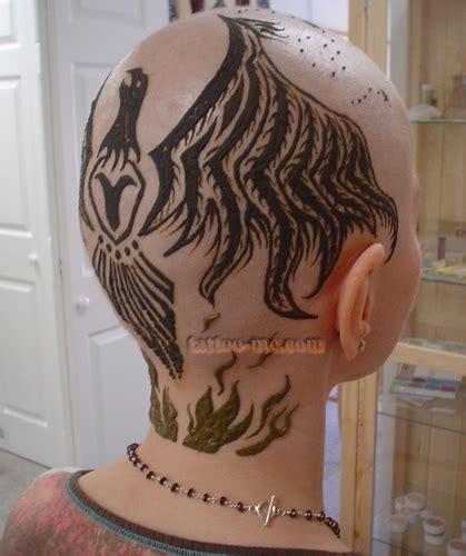 henna tattoo phoenix henna on head