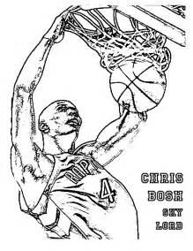 basketball coloring part 2