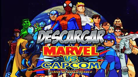 capcom apk marvel vs capcom clash of heroes v1 1 2 apk emulador espa 241 ol gratis descargar