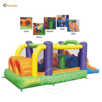 Murah Obstacle Course Bouncer Happy Hop 9063 happyhop jumping bouncer 9063 childrens