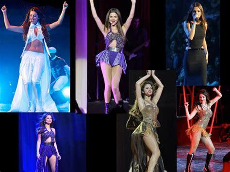 Selena Gomez Closet Tour by Tour Selena Gomez Gets Bold Boldsky