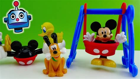 mickey mouse swing set mickey y donald en el parque mickey silly swing and donald