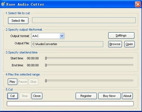 smallest file format for audio download aac cutter software aac cutter audio file