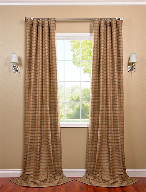 teal cotton curtains mocha and teal casual cotton curtain contemporary