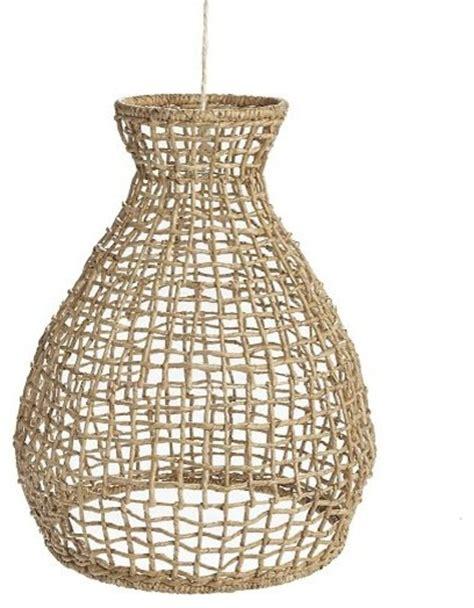 Woven Seagrass Pendant Tropical Pendant Lighting Tropical Pendant Lighting