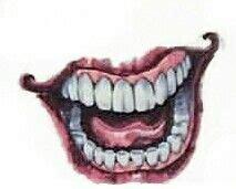 joker mouth tattoo joker tattoos jokers and the joker on pinterest