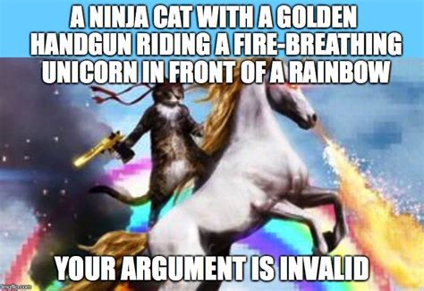 Internet Rainbow Meme - image gallery ninja cat unicorn meme