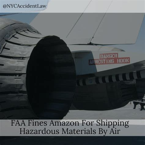 aviation lawyer says faa fines for shipping hazardous materials by air