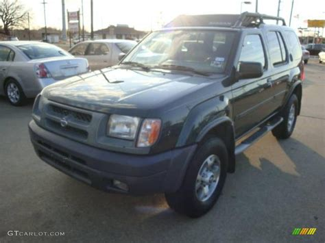 2000 alpine green metallic nissan xterra xe v6 1650417 gtcarlot car color galleries