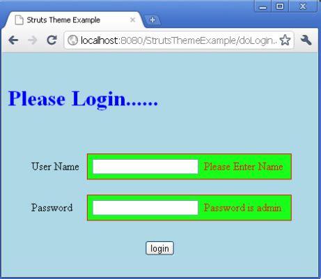 xml tutorial roseindia struts theme and template