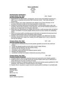 Sle Resume With Gpa by General Ledger Accountant Resume