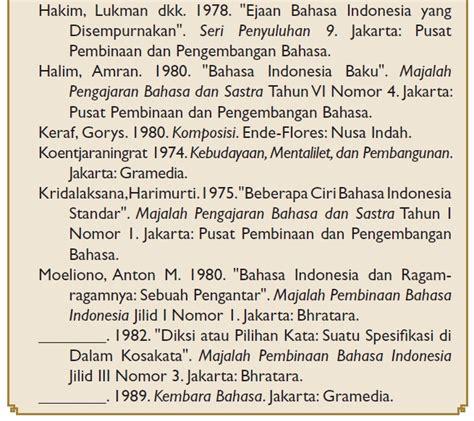 format penulisan jurnal di daftar pustaka cara membuat daftar pustaka sesuai aturan tata bahasa