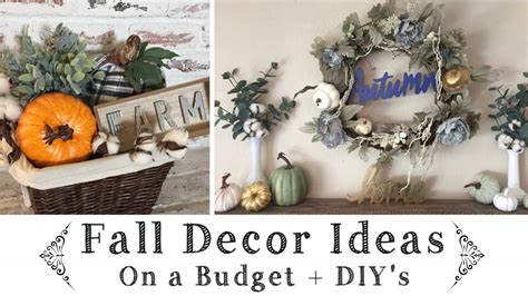 the best fall decor on a budget bless er house fall decor ideas on a budget dollar tree target 1 spot