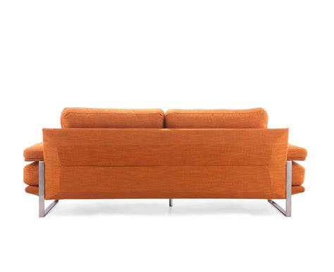 orange settee orange fabric sofa z625 fabric sofas