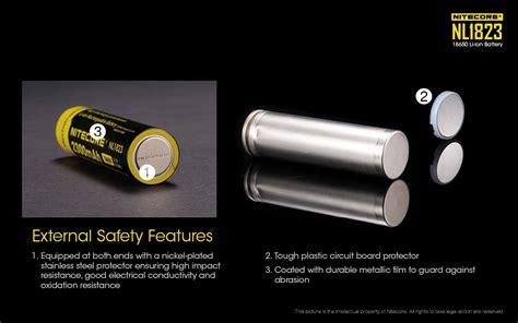 Casing Baterai Transparan 18650 nitecore 18650 baterai li ion 2300mah 3 7v nl1823 black yellow jakartanotebook