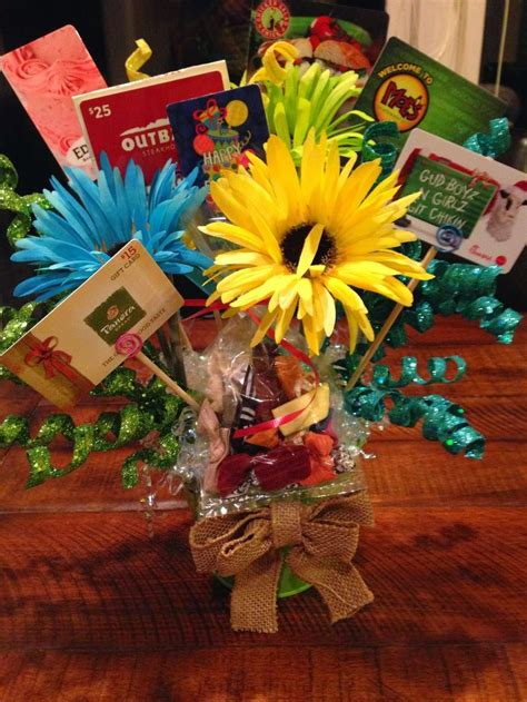Gift Card Bouquet - 17 best ideas about gift card presentation on pinterest movie gift gift card