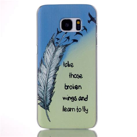 Ultra Thin Ume S7 Edge ultra thin parttern back cover for
