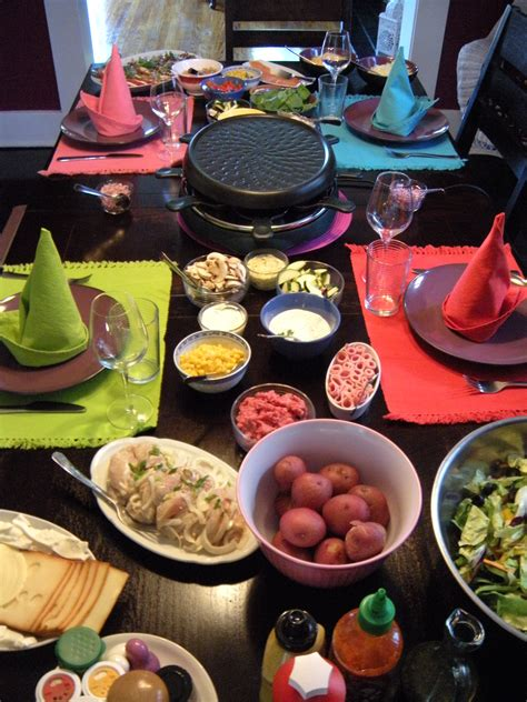 raclette dinner 6 best ingredients for a raclette grill