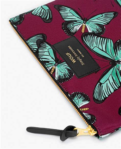 Pouch Buterfly butterfly large pouch wouf