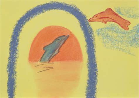 Cat Akrilik Warna Pastel gambar warna lukisan cat air sketsa gambar