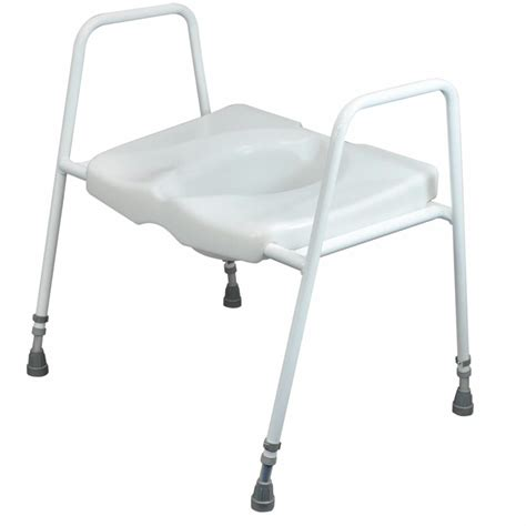 commode toilet seat chair frame raised toilet seat on frame