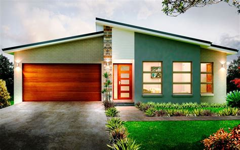 Single Story Farmhouse Plans by Modern House Design One Storey Modern House