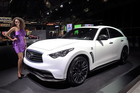 infiniti fx50 lowered infiniti fx sebastian vettel version approved for