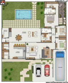 Uma Floor L 1000 Images About Planta Baixa On Quartos Small House Plans And Floor Plans
