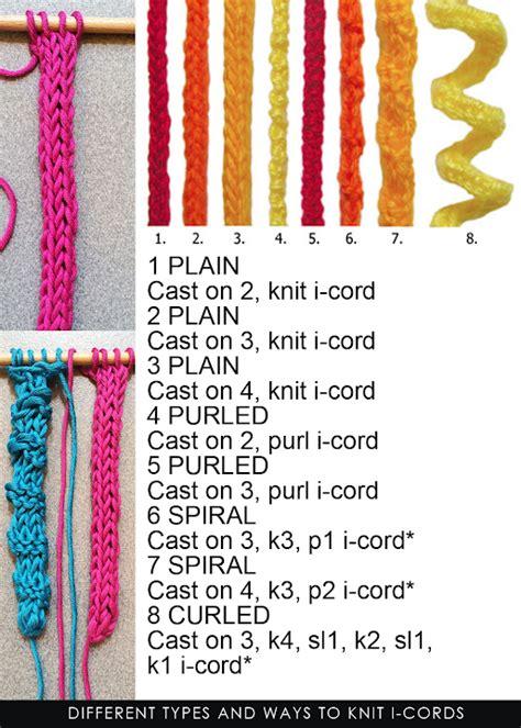 how to make i cord knitting diaryofacreativefanatic