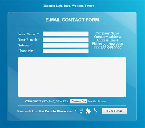 sahifa theme contact form 24 amazing html contact forms you can download right now