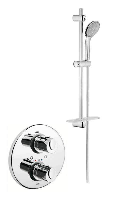 Grohe Shower Valve Repair by Grohe Grohtherm 1000 Shower Set With Thermostatic Shower Valve