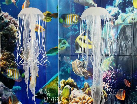 hanging decorations diy hanging jellyfish decoration themed decor