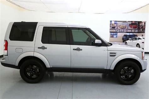silver land rover lr4 13 land rover lr4 hse navigation 20 inch wheels