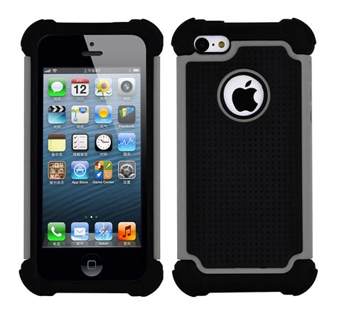 5 iphone cases protective heavy duty for apple iphone 5 5s thick silicone cover ebay