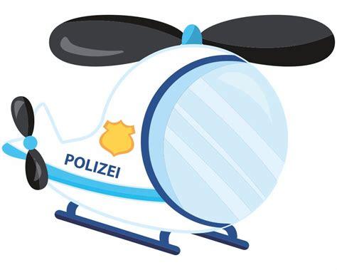 kinderzimmer deko polizei wandtattoo polizeihubschrauber als babyzimmer deko