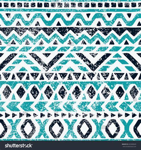 pattern with geometric motifs seamless geometric pattern ethnic tribal motifs stock