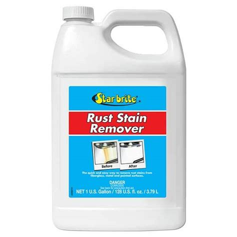boat rust cleaner star brite rust stain remover gallon west marine